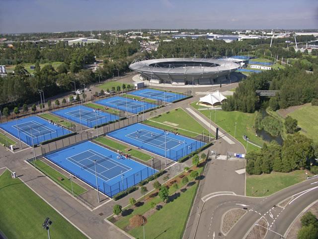 Melbourne tennis centre, melbourne